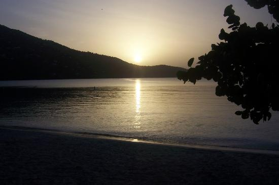 Flamboyan on the Bay Resort & Villas: Magen's Bay at Sunset