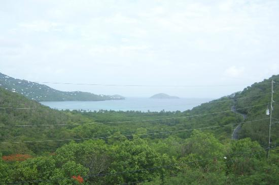 Flamboyan on the Bay Resort & Villas: View from Balcony at Magen's Point