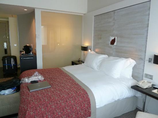 Sofitel Brussels Europe: Super comfy bed