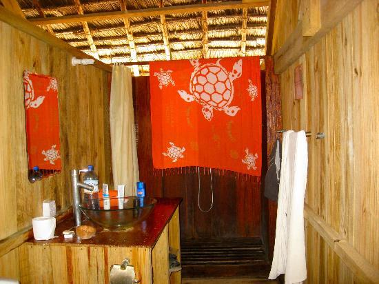 Kinazi Upepo Hotel : il bagno