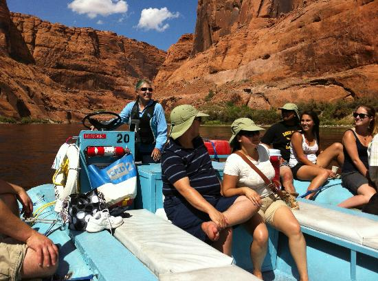 Colorado River Discovery >> Colorado River Discovery Glen Canyon Half Day Float Trips Our