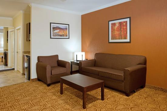 Holiday Inn Express Hotel & Suites Katy: suite resting area