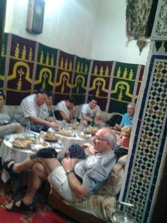Restaurant Zohra : les gens