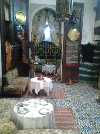 Restaurant Zohra : le cadre