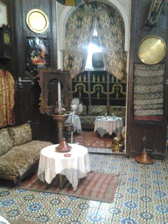 Restaurant Zohra : la chambre droit