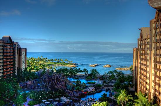 Aulani, a Disney Resort & Spa: View from the room