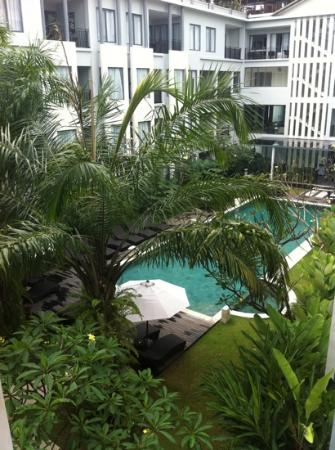 Umalas Hotel and Residence: view from my room