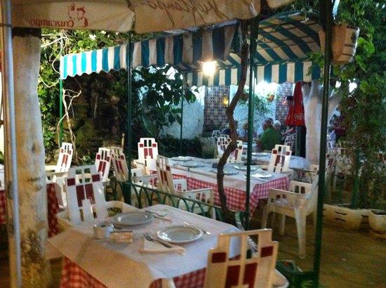 Bar Restaurante Jardin de Canalejas: comedor exterior