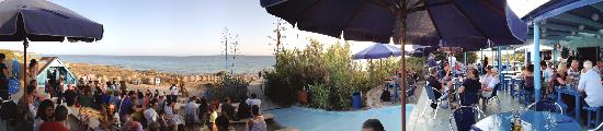 Blue Bar Formentera: Restaurante y Sun Set