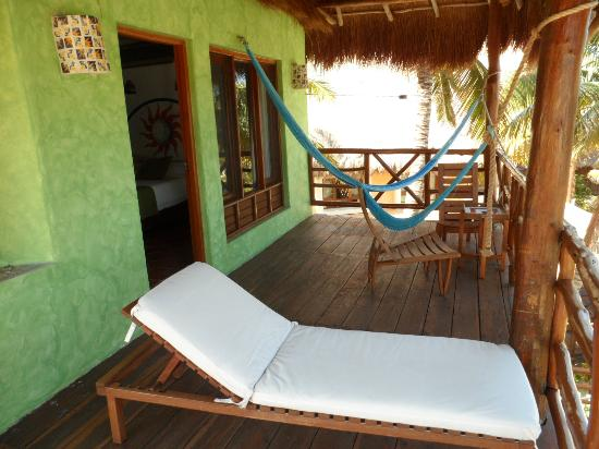 Mahekal Beach Resort: balcon