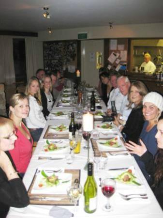 Attunga Ski Lodge Thredbo: Dinner at Attunga - Ski Season Opening Weekend