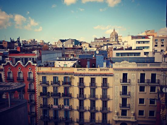 Mesón Castilla Atiram: Vistas desde la habitación