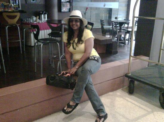 Hotel Plaza Rosa: lobby