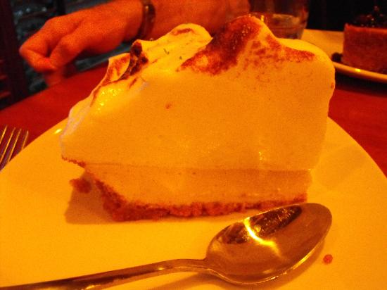 Weber Grill Restaurant: Key Lime pie.  They don't scrimp on the merangue.