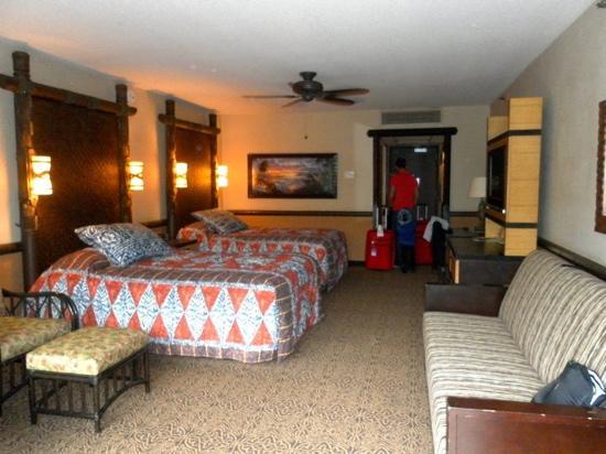 Disney's Polynesian Village Resort : chambre
