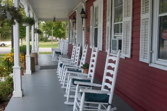 The Wilson House: The porch