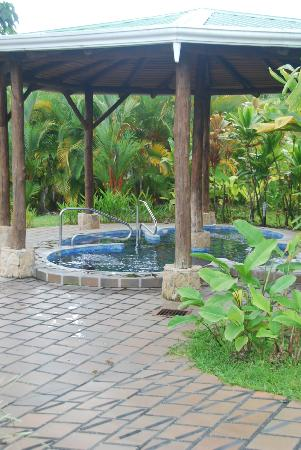 Arenal Manoa Hotel: Hot tub