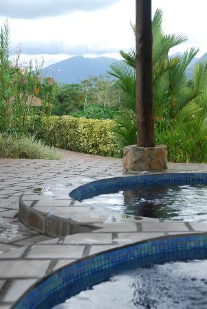 Arenal Manoa Hotel: view from the hot tub