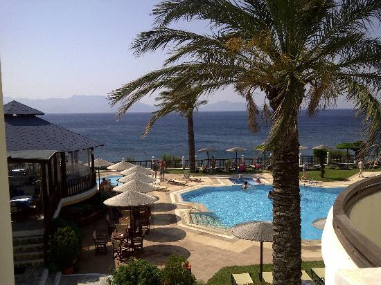 Dimitra Beach Hotel: view