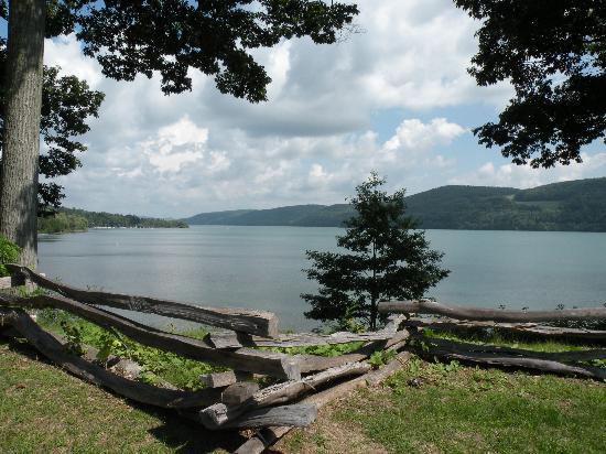 Otsego Lake from the Fenimore Folk Art Museum