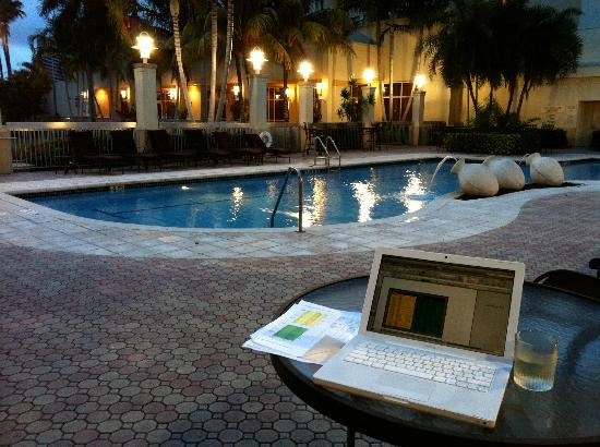 The pool - Picture of Renaissance Fort Lauderdale ...