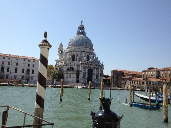 The Westin Europa & Regina, Venice: View from terrace of Bar Tiepolo