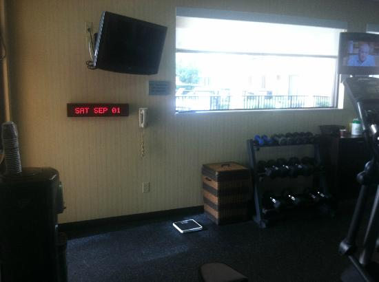 Courtyard Houston Westchase : gym