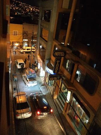 Hostal Sol Andino: view from my room #203