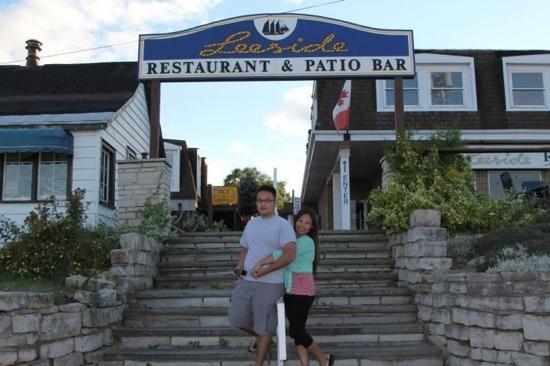 Leeside Restaurant & Patio Bar: Dinner at Leeside Restaurant