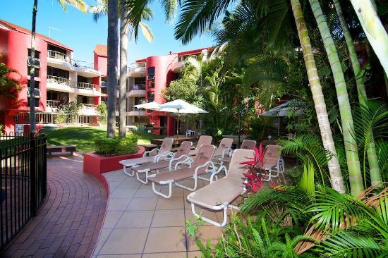 Enderley Gardens Resort: Sun Beds