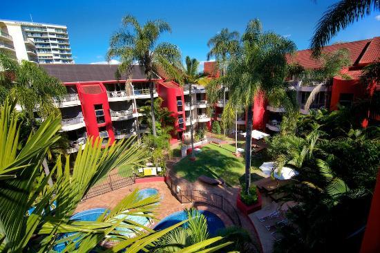 Enderley Gardens Resort: Views from Balcony