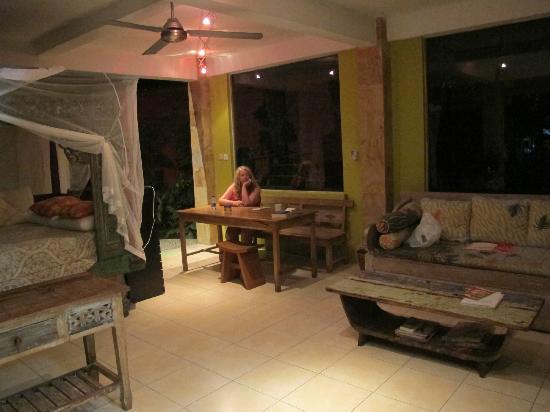 Desa Sanctuary, The Village : Downstairs ....