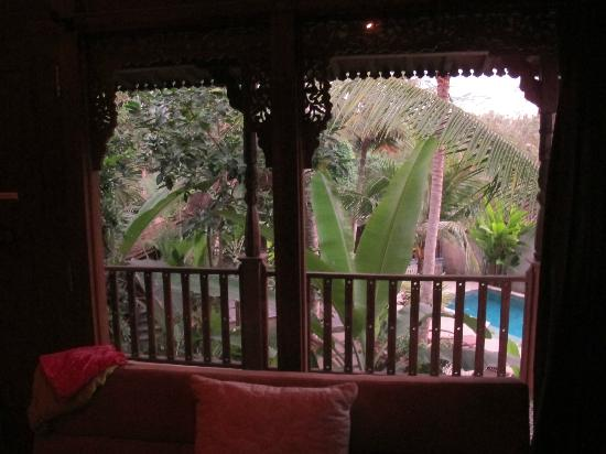 Desa Sanctuary, The Village: View from our bedroom....