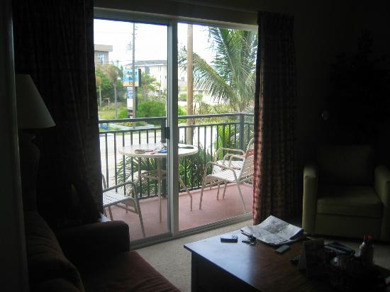 Madeira Bay Resort: Our porch and the view from there