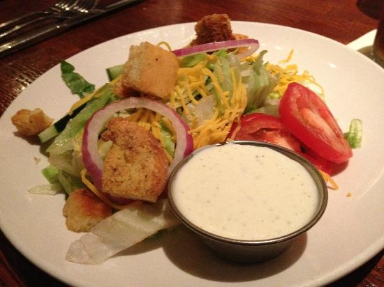 Twin City Grill: Side Salad