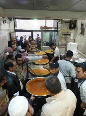 Inside the shop. - Picture of Habibah Sweets, Amman ...