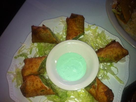 Celi's Mexican Restaurant: Guacamole egg rolls