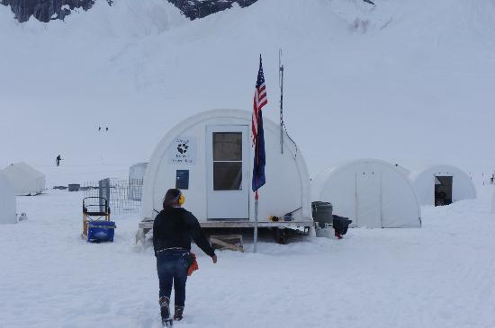 Alaska Icefield Expeditions: Staff quarters