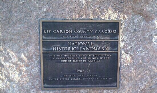 Kit Carson County Carousel: National Historic Landmark