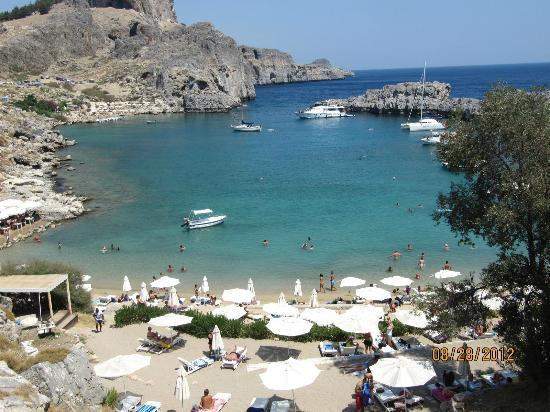 Agios Pavlos Beach (Saint Paul): beach 2