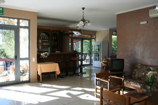 Hotel Glaros: Zona ristorazione