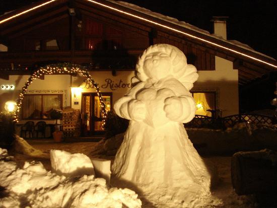 B&B La Baita: inverno alla baita
