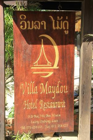 Villa Maydou : Entrée de l'hôtel