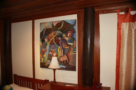 Villa Maydou : Décoration dans la chambre