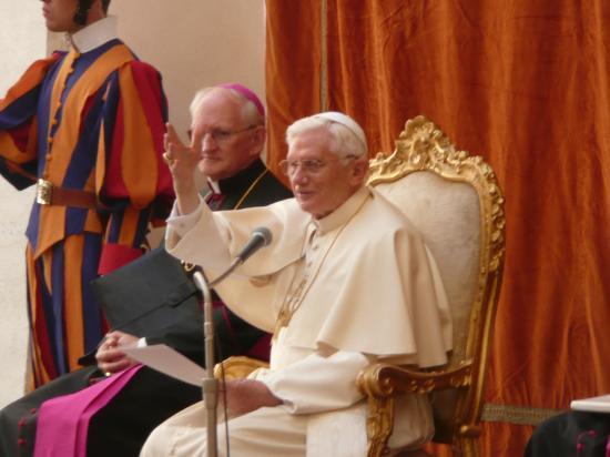 Pontifical Villas of Castel Gandolfo : Der Papst ganz nah.