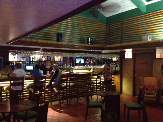 The Mediterranean Gourmet: at the bar