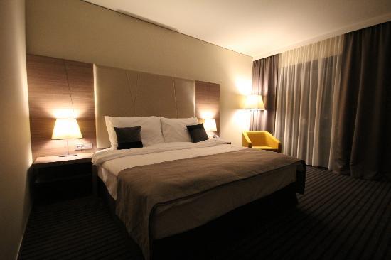 Radisson Blu Plaza Hotel Ljubljana: Zimmer