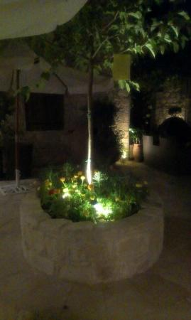Arsorama Village Homes : The courtyard at night