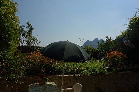 Vista Divina: Aussicht / Garten