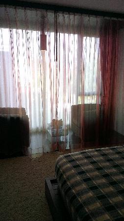 Rashmi's Plaza Hotel: why that curtain I have no clue